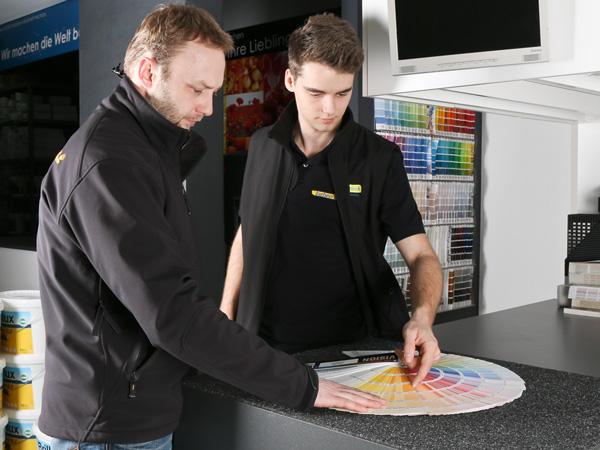 Farben Brück Service – Vor-Ort-Beratung